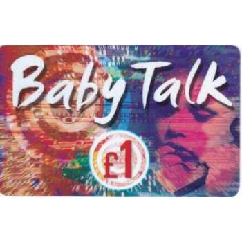 Baby Talk Calling Card
