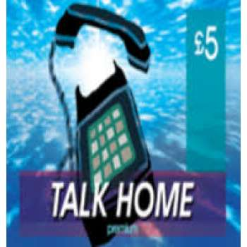 £5 Talk Home Calling Card