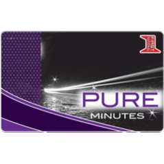 Pure Minutes Calling Card