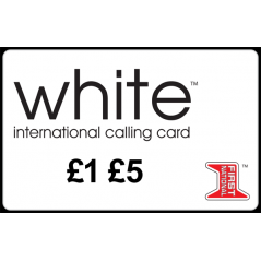 White Calling Card Online