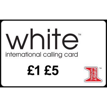 Buy White Calling Card Online Pin Delivered To Provided Email