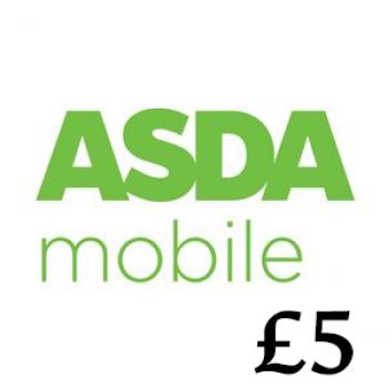 £5 Asda Mobile Top Up Voucher Code