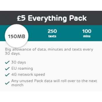 £5 EE Mobile Top Up Voucher Code