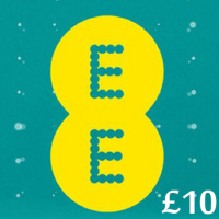 £10 EE Mobile Top Up Voucher Code