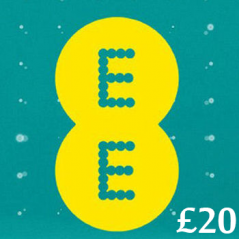 £20 EE Mobile Top Up Voucher Code