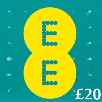 £20 EE Mobile Top Up Voucher Code