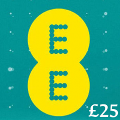 £25 EE Mobile Top Up Voucher Code