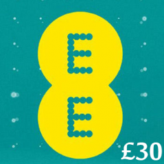 £30 EE Mobile Top Up Voucher Code