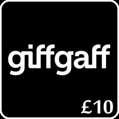 £10 Giffgaff Top Up Voucher Code