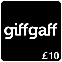 £10 Giffgaff Top Up Voucher Code