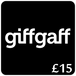 £15 Giffgaff Top Up Voucher Code