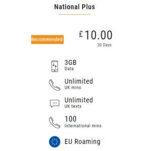 20 Lycamobile Top Up Voucher Code - To Email - PayPal Credit