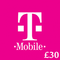 £30 T-Mobile Top Up Voucher Code