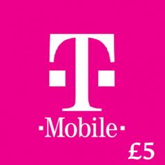 £5 T-Mobile Top Up Voucher Code