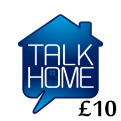 £10 Talk Home Mobile Top Up Voucher Code