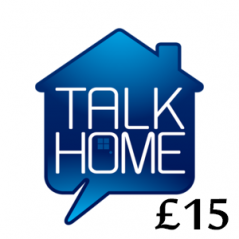 £15 Talk Home Mobile Top Up Voucher Code