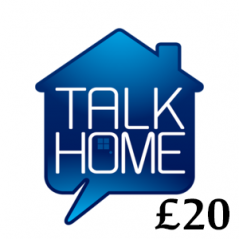 £20 Talk Home Mobile Top Up Voucher Code