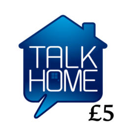 £5 Talk Home Mobile Top Up Voucher Code