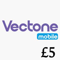 £5 Vectone Mobile Top Up Voucher Code