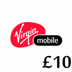 £10 Virgin Mobile Top Up Voucher Code