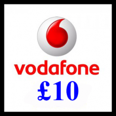 £10 Vodafone Mobile Top Up Voucher Code