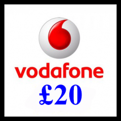 £20 Vodafone Mobile Top Up Voucher Code