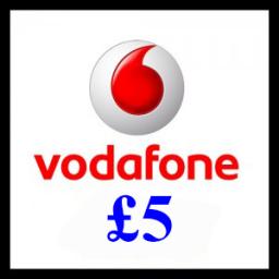 £5 Vodafone Mobile Top Up Voucher Code