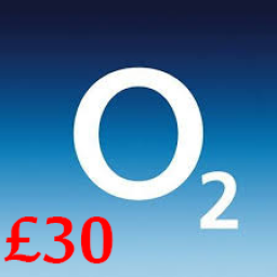 £30 O2 Mobile Top Up Voucher Code