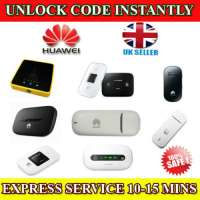 Unlocking Unlock Code For HUAWEI E585, E586E, E585u-82 USB Modem Instantly