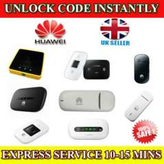 Unlocking Code For Huawei E 3131 Mobile Wi-Fi Instantly