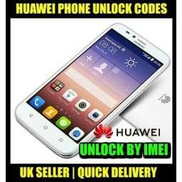 Unlock Code Huawei Ascend Phone Y220 Y221 Y320 Y520 Y600 Fast & Instant 100%