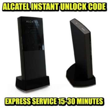 Unlocking Code For Alcatel Y800 Y800Z Mobile Wi-Fi Instantly