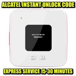 Unlocking Code For Alcatel Y855 Mobile Wi-Fi Instantly
