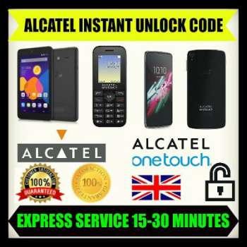 Unlocking Code For Alcatel OT VIRGIN VM575 Instantly