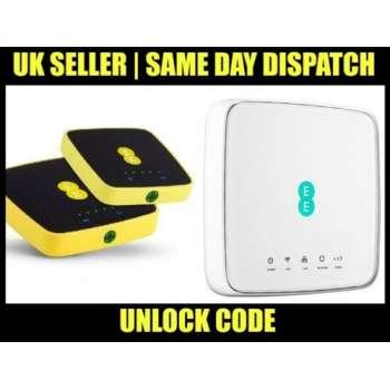 Unlock Code for EE 4GEE Router HH70VB 4GEE WiFi / Mini EE70 & EE120-2AE8GB3