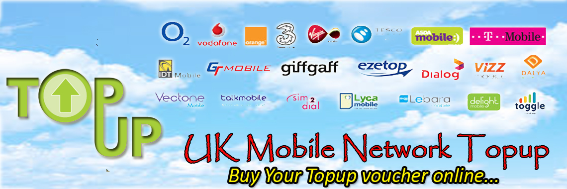 UK Mobile Top up